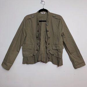 Jack by BB Dakota Tan Military Style Jacket